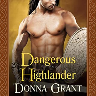 Dangerous Highlander audiobook cover art