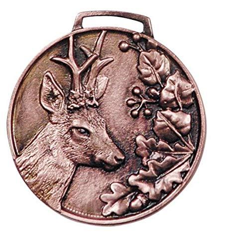 Hi-Life Living Nature Medalla Trofeo de Corzo Bronce. Decoracin Trofeo. Cazador. 2677031
