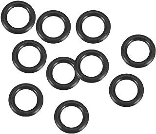 sourcing map 40 St/ück Gummi O Ring NBR Hitzebest/ändig Dichtung /Öse Schwarz 14mm x 1,9mm de
