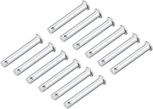 F-MINGNIAN-SPRING 10Pcs Outer Dia 5mm Small Extension Spring Steel Tension Spring With Hooks Wire Dia 0.5mm Length 15-60mm Size : 0.5 x 5 x 30mm