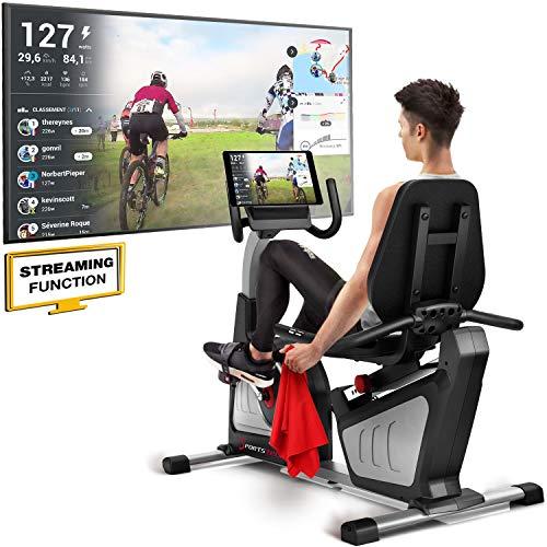 Sportstech ES600 Ergomètre Professionnel ES600 - Marque Allemande de qualité -Video & Multijoueur...