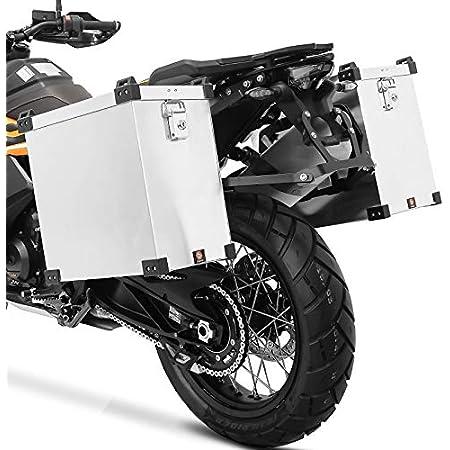 Givi Seitenkoffer Monokey E22n Kompatibel Mit Suzuki Dl 650 V Strom 2017 17 2018 18 Auto