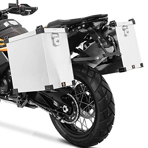 Maletas Laterales Aluminio NB 35 L para BMW F 650 / GS/Dakar + Kit