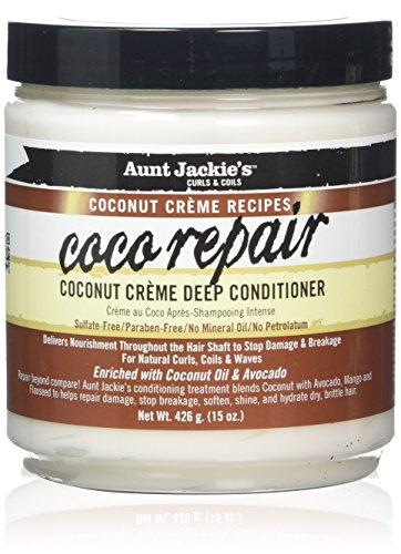 Aunt Jackies Coconut Creme Coco Repair Mousses, 436 ml