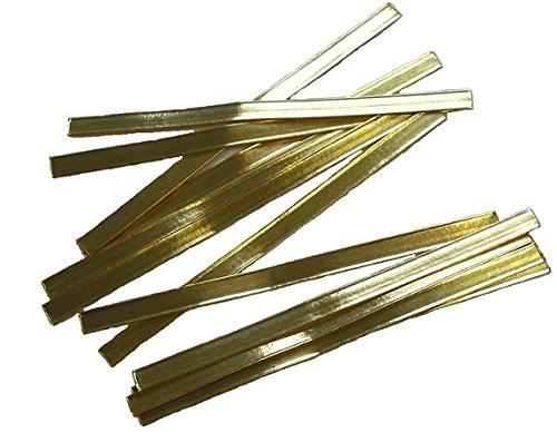 1000 Stk. Clipbandverschlüsse gold 140mm von BLÜHKING®