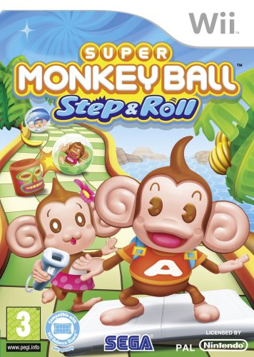 Super Monkey Ball Step & Roll (Wii) [Edizione: Regno Unito]