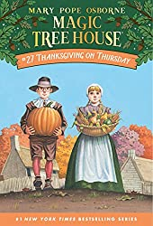 Thanksgiving Chapter Books for Kids - Thanksgiving on Thursday (Magic Tree House #27)