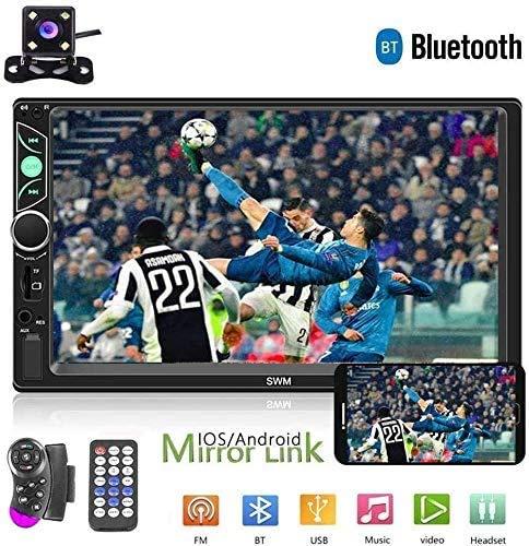 mächtig der welt 7 Zoll Doppel DIN Autoradio Radio HD Touchscreen Auto Audio Bluetooth FM Radio USB Auto Audio…