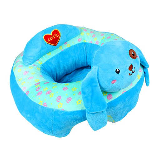 Alpacasso-kreatives Baby, das sicheren Sitz-Stuhl, bequeme Baby-Stützfütterungs-Sicherheits-Sofa-Plüsch-Geschenk-Spielwaren pflegt. (Blue Dog)