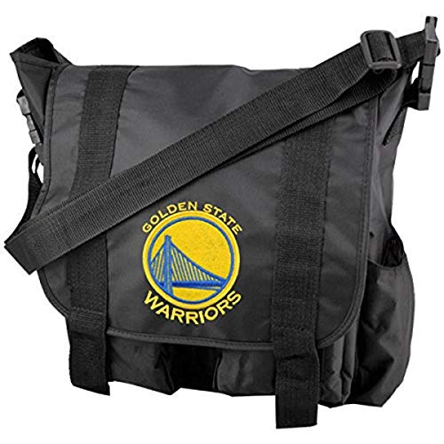 NBA Golden State Warriors Team Logo Diaper Bag with Changing Pad
