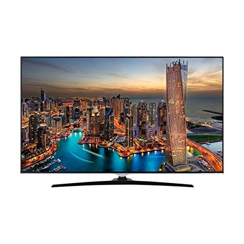 Téléviseur LED Ultra HD 4K 138 cm Hitachi 55HK6500 - TV LED 4K 55 pouces - TV connecté / Smart TV - Tuner TNT terrestre / satellite - Enregistrement PVR (sur USB) - Prise casque - Son 2 x 10 W
