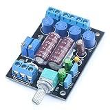 DollaTek TA2024 Amplificador de Audio Digital Ordenador de a Bordo PC HiFi AMP Speaker Módulo de Bricolaje 2 Canales 3A / 12V Fuente de alimentación con 2200uF / 16V eléctrica Large Capacity