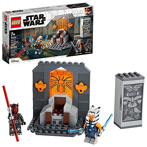 LEGO Star Wars Duel on Mandalore 75310 Awesome Toy Building Kit Featuring Ahsoka Tano and Darth...