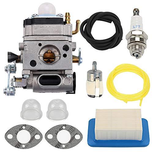 Mannial PB-500T PB500T WLA-1 Carburetor Carb with Air Filter fit Echo Gas Blower PB500 PB500T PB500H EB508RT A021001641 A021001642 Walbro WLA-1