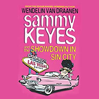 Sammy Keyes and the Showdown in Sin City audiobook cover art