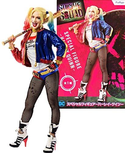 Japan Oficial Suicide Squad Figure Harley Quinn 20 cm FURYU DC Comics Cinema Film Margot Robbie