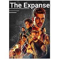エクスパンスシーズン6(2021)映画キャンバスプリントポスターとプリントユニークなアートワーク壁アート家の装飾ギフトプリントキャンバスに-60x90cmフレームなし
