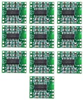 10パックPAM8403ミニデジタルの増幅器モジュールDC2.5V-5V 3Wx2クラス-Dボード