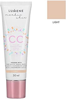 b440b921b7d Lumene CC Color Correcting Cream SPF20, Light, 1 Fluid Ounce