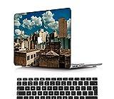 NEWCENT Nuevo MacBook Air 13' Funda,Plástico Ultra Delgado Ligero Cáscara Cubierta EU Teclado Cubierta para MacBook Air 13 Pulgadas con Retina Display Touch ID(Modelo:A1932),Vistoso A 0262