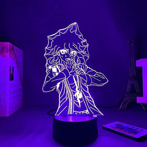 Lámpara de ilusión 3D Danganronpa, luz de anime japonés