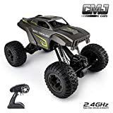 CMJ RC Cars 1:10 Rock Crawler With Adjustable Chassis Climb 4 X 4 Monster Truck 4WD Remote Control Car 2.4Ghz