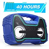 Best Bluetooth Speaker For Outdoors - Portable IPX7 Waterproof Bluetooth Speakers, 40-Hour Playtime Wireless Review