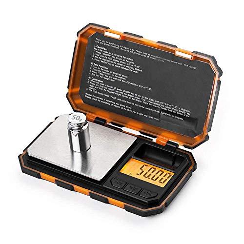 Keuken Thuis Multifunctionele Digitale Zakweegschaal 200G X 0 01G Mini Precisie Digitale Weegschaal voor Sterling Zilver 0 01 Weegschaal Elektronische Weegschaal 50G Kalibratie-_Groen