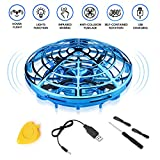 YOSICIL Hand Operated Drones for Kids, Mini Drone UFO Flying Ball 360 Degree Rotation Toys for Beginner Boys Girls