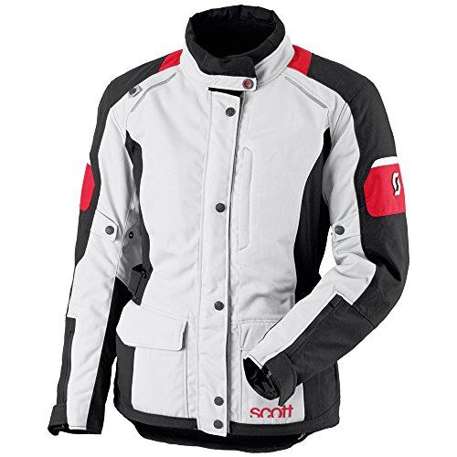 Scott Turn TP Damen Motorrad Jacke grau/rot 2016: Größe: 44