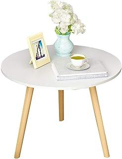 طاولات جانبية للقهوة ذات جودة عالية لتزيين الأثاث الحديث وطاولة جانبية لغرفة المعيشة والمنزل والمكتب, خيزاران, 35cm