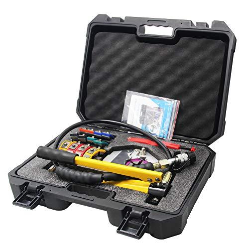 CGOLDENWALL SD-7842B Manual A/C Abrazadera Hidráulica Herramientas de Reparación de Aire Acondicionado Herramientas de Reparación de Manguera Crimpadora