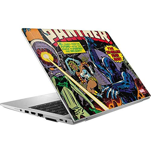 Skinit Laptop Skin Compatible with HP Elitebook 840 G6 (2019) - Officially Licensed Marvel Black Panther vs Six Million Year Man Design