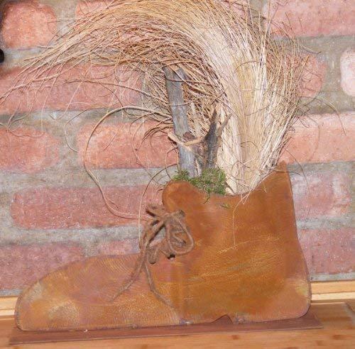 Rouille Noble Chaussure, Branché de Rouille Idée de Décoration pour Maison et Jardin