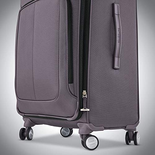 Samsonite Solyte DLX Softside Expandable Luggage with Spinner Wheels, Mineral Grey