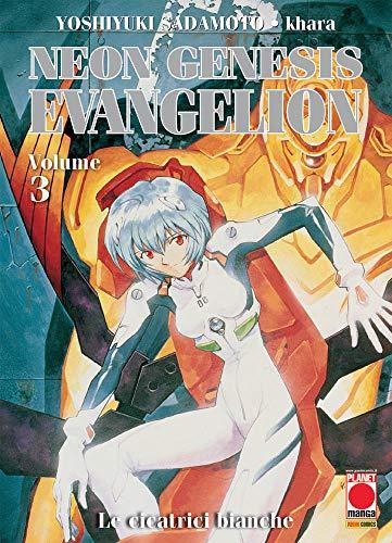 Neon Genesis Evangelion N° 3 - Ristampa - Planet Manga - Panini Comics - ITALIANO #MYCOMICS