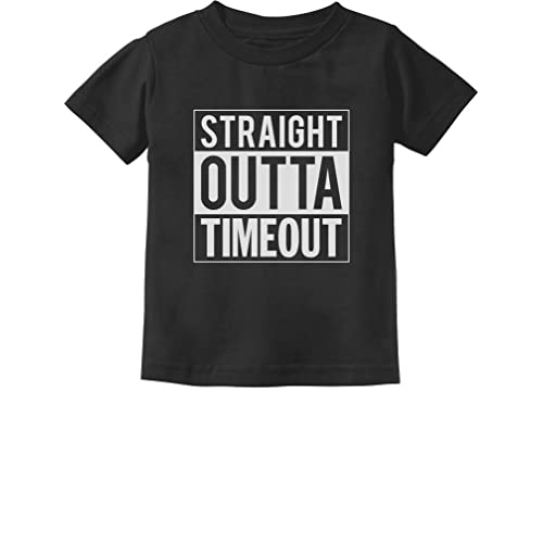 a1a8f45e Tstars - Straight Outta Timeout Funny Toddler/Infant Kids T-Shirt