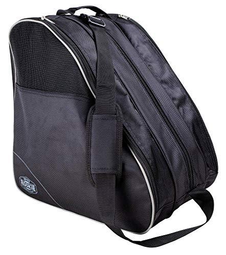 Rookie Compartmental Boot Bag Tasche für Rollschuhe Unisex Erwachsene Mehrfarbig (Black/Grey), 35 l