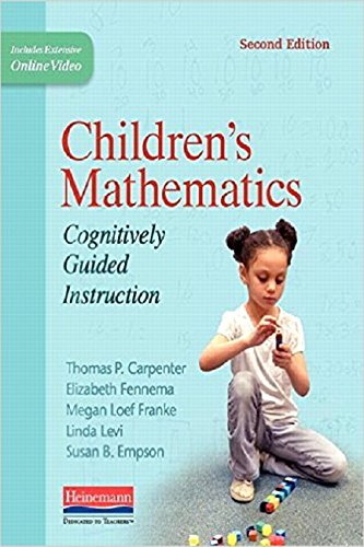 Compare Textbook Prices for Children's Mathematics, Second Edition: Cognitively Guided Instruction 2 Edition ISBN 9780325052878 by Carpenter, Thomas P,Fennema, Elizabeth,Franke, Megan Loef,Levi, Linda,Empson, Susan B.