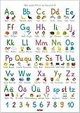 Fragenbär-Lernposter: Mein großes ABC in der Grundschrift (GS), L 70 x 100 cm (Lerne mehr mit...
