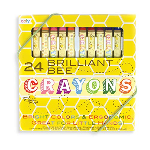 OOLY, Natural Beeswax Crayons, Set of 24 (133-50)