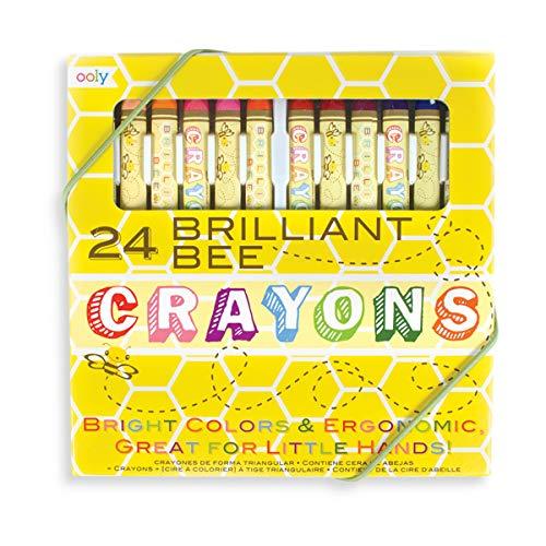 OOLY, Natural Beeswax Crayons, Set of 24 (133-50)