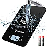 Homestine Electronic Food Scale, 11lb Digital Kitchen Scale Weight Grams and oz for Cooking Baking,...