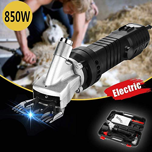 Best Bargain Sheep Shears, 850W Portable 6 Speed Sheep Shears Electric Hair Clippers Goats, Goat Cli...