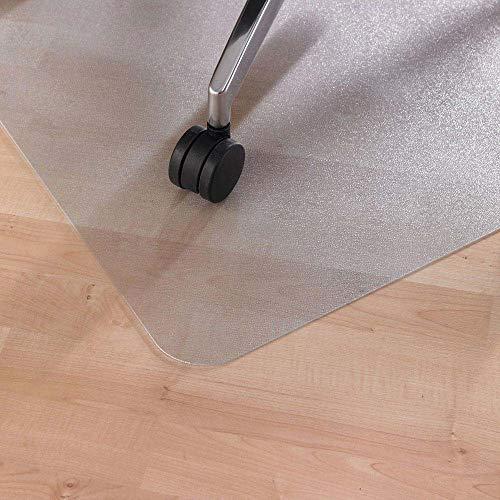 LEVIATAN Fussbodenmatte | Bürostuhl Unterlage Universell | Bodenschutzmatte Bürostuhl Transparent | Unterlage Schreibtischstuhl 1200x900mm