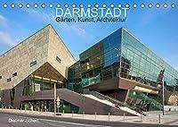 Darmstadt - Gaerten, Kunst, Architektur (Tischkalender 2022 DIN A5 quer): Kunstvolle Fotografien einer kunstvollen Stadt (Monatskalender, 14 Seiten )