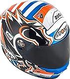 Suomy - Casco Sr-Sport Dovizioso GP, réplica Ducati, gráfica, L