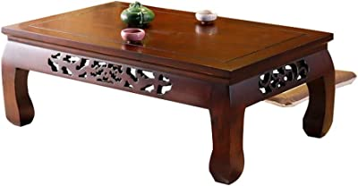 Hogar24-Mesa de Centro elevable diseño Vintage, Madera Maciza ...