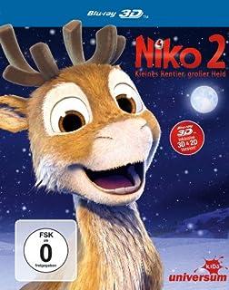 Niko 2 - Kleines Rentier, großer Held (inkl. 2D-Version) [3D Blu-ray]