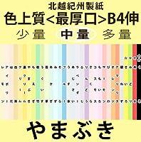 北越紀州色上質B4Y伸(272mm×393mm)<最厚口>[やまぶき](200枚)